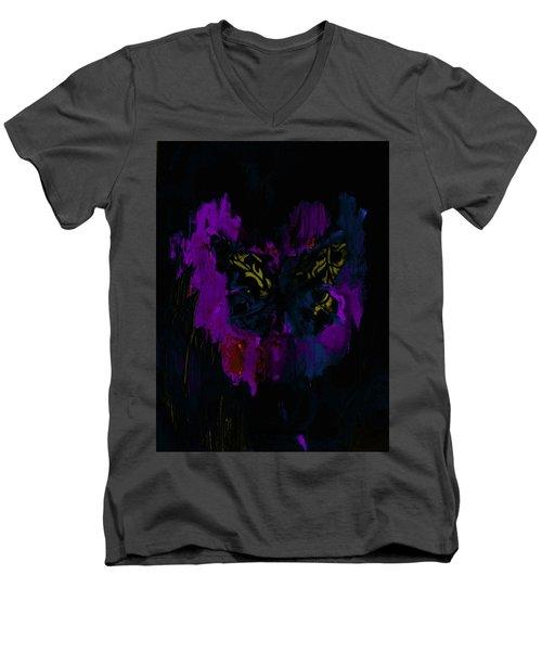 Mysterious By Lisa Kaiser Men's V-Neck T-Shirt