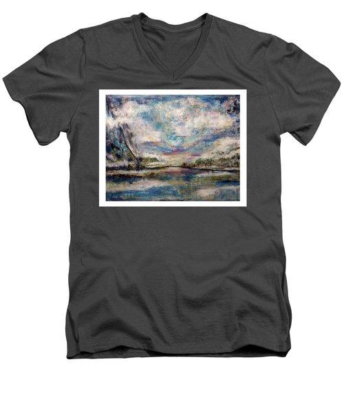 Mystic Cove Men's V-Neck T-Shirt