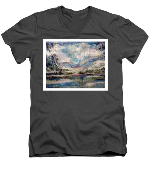 Mystic Cove Men's V-Neck T-Shirt
