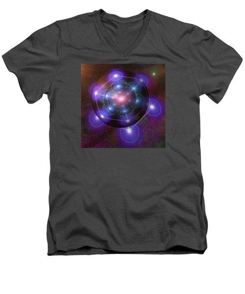Mystical Metatron Men's V-Neck T-Shirt