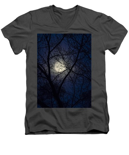 Mystic Moon Men's V-Neck T-Shirt