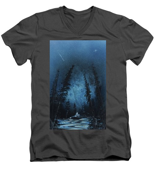 Mystic River Men's V-Neck T-Shirt