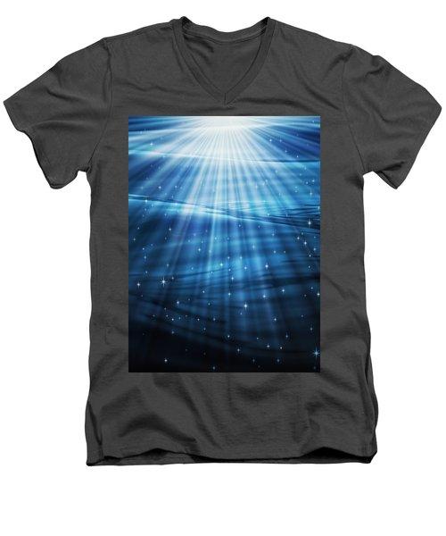 Mystic Waters Men's V-Neck T-Shirt