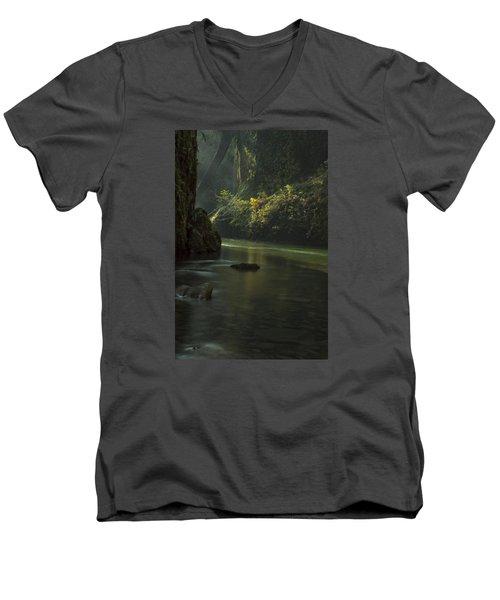 Mystical Canyon Men's V-Neck T-Shirt