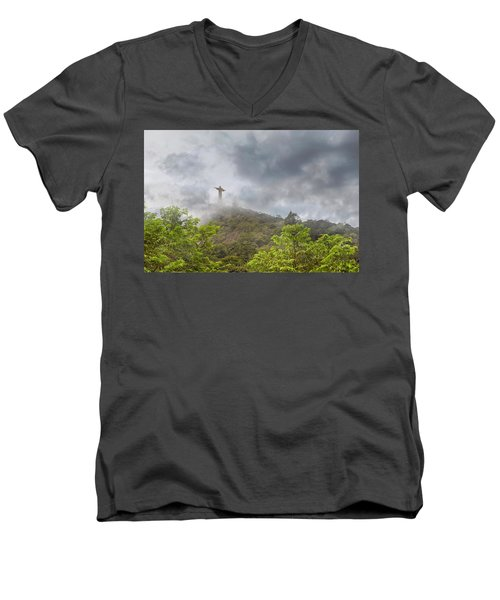 Mystical Moment Men's V-Neck T-Shirt