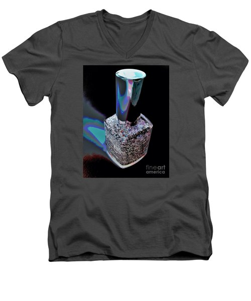 Nail Polish On The Stage Men's V-Neck T-Shirt by Jasna Gopic