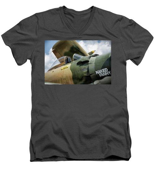 Naked Fanny Men's V-Neck T-Shirt