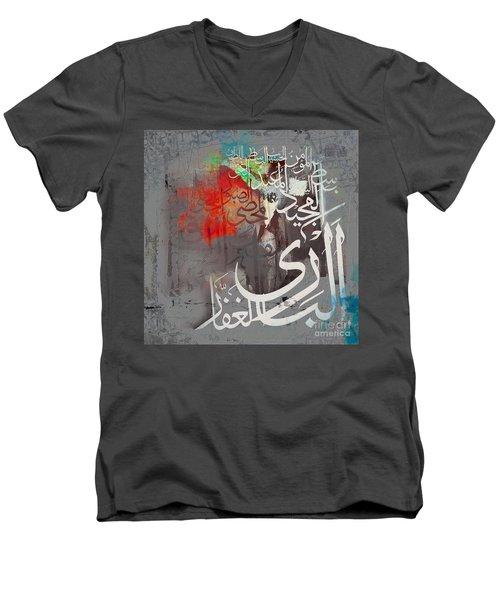 Names Of Allah  Men's V-Neck T-Shirt by Gull G