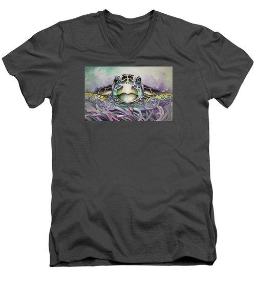 Namorita Men's V-Neck T-Shirt by William Love