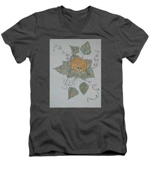 Nana Rose Is Here Men's V-Neck T-Shirt by Sharyn Winters