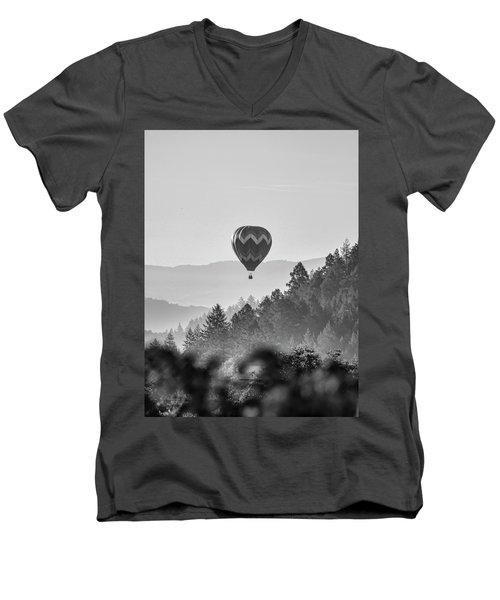 Napa Balloon Men's V-Neck T-Shirt
