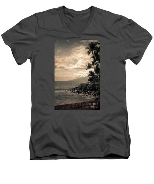 Napili Heaven Men's V-Neck T-Shirt by Kelly Wade