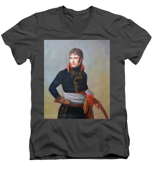 Napoleon Bonaparte As First Consul Men's V-Neck T-Shirt
