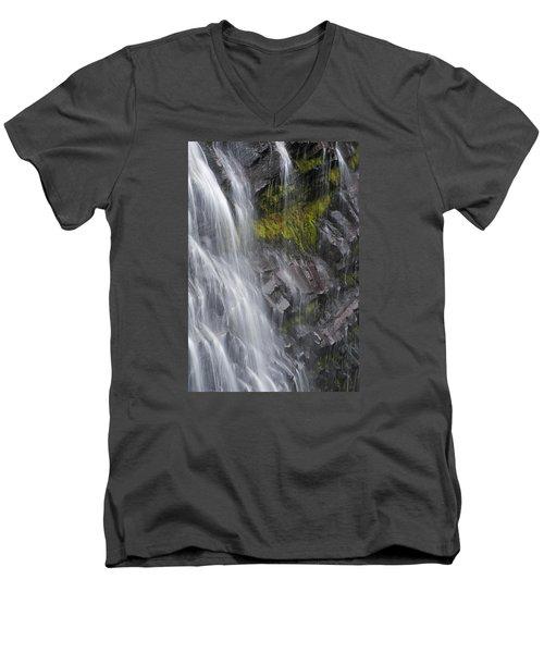 Narada Falls II Men's V-Neck T-Shirt