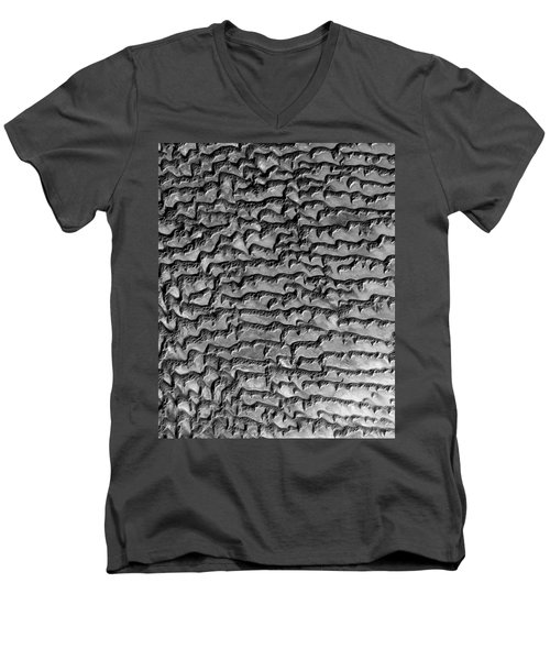 Nasa Image-rub' Al Khali, Arabia-3 Men's V-Neck T-Shirt