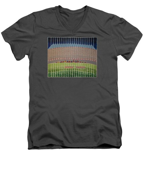 Nascar Race Men's V-Neck T-Shirt