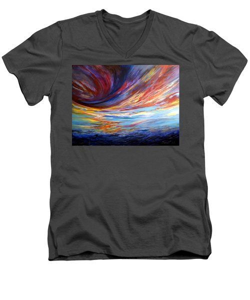 Natchez Sky Men's V-Neck T-Shirt