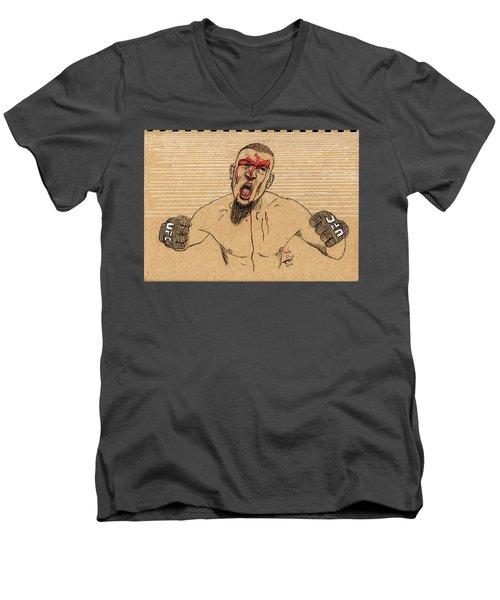 Nate Diaz Men's V-Neck T-Shirt