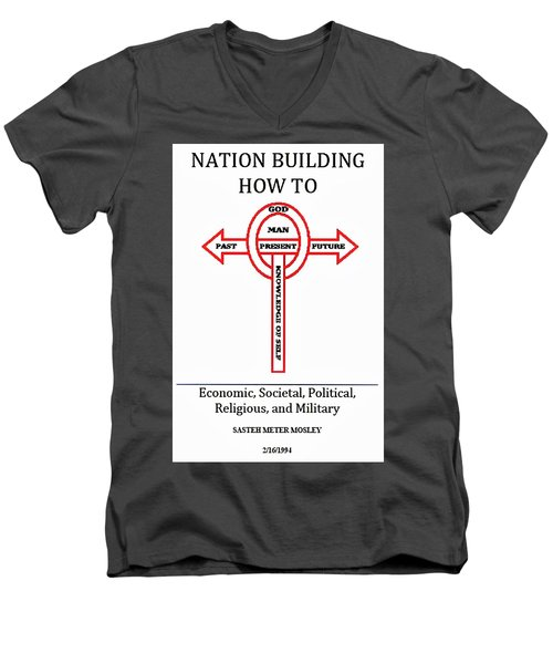 Nation Building How To Book Men's V-Neck T-Shirt