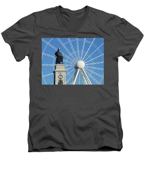 National Armada Memorial Men's V-Neck T-Shirt