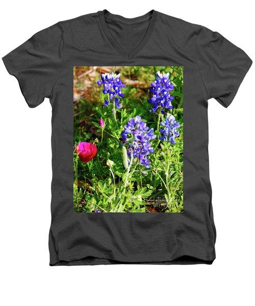 National Colors Men's V-Neck T-Shirt