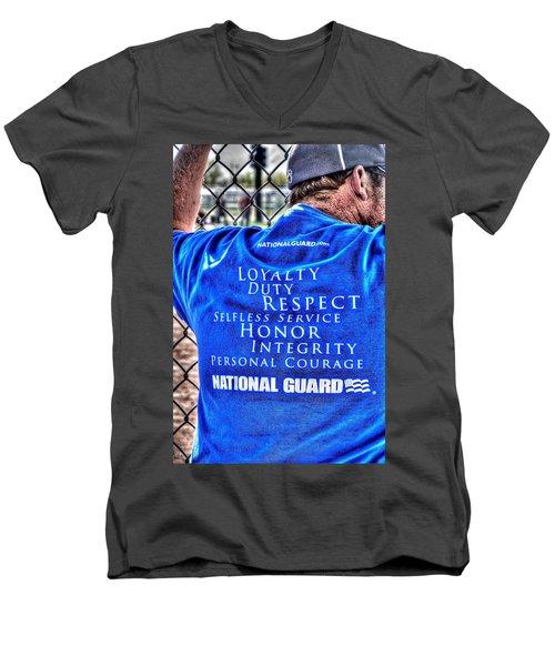National Guard Shirt 21 Men's V-Neck T-Shirt