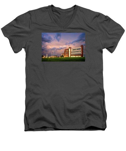 National Weather Center II Men's V-Neck T-Shirt