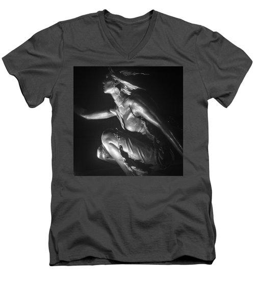 Native American Night Men's V-Neck T-Shirt