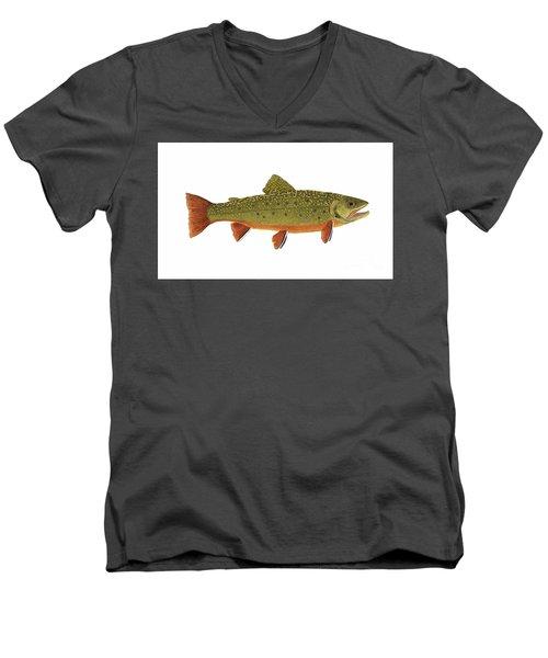 Native Brook Trout Men's V-Neck T-Shirt