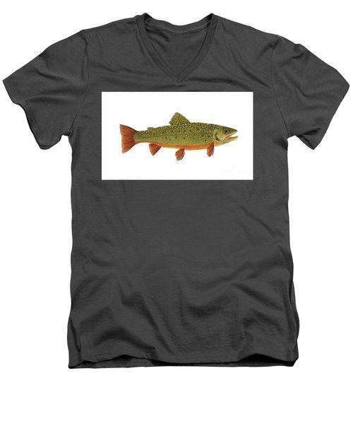 Native Brook Trout Men's V-Neck T-Shirt