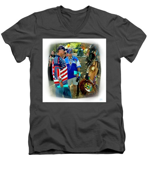 Native Intelligence Men's V-Neck T-Shirt