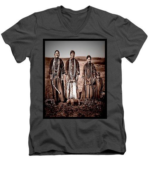 Native Pride Men's V-Neck T-Shirt
