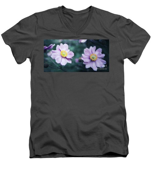Men's V-Neck T-Shirt featuring the photograph Natural Beauty by Hannes Cmarits