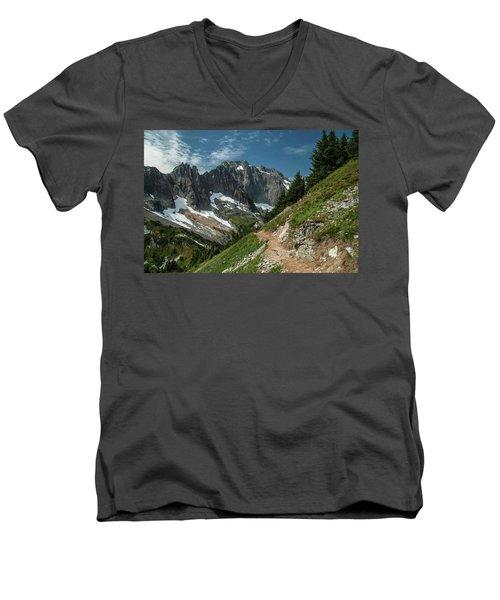 Natural Cathedral Men's V-Neck T-Shirt