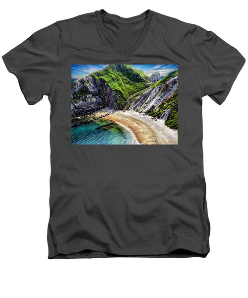 Natural Cove Men's V-Neck T-Shirt