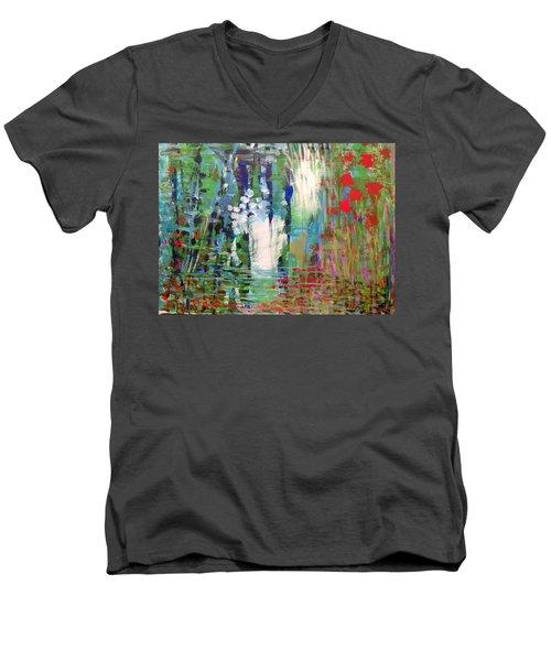 Natural Depths Men's V-Neck T-Shirt