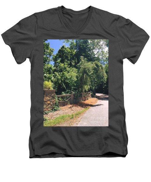 Natural Journey Men's V-Neck T-Shirt