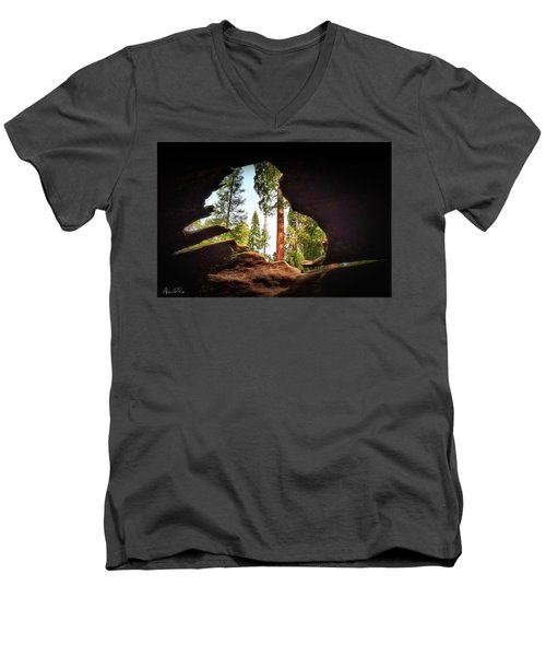 Natural Window Men's V-Neck T-Shirt