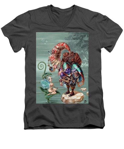Naturalist Men's V-Neck T-Shirt