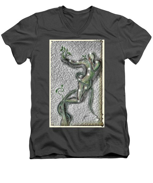 Nature And Man Men's V-Neck T-Shirt