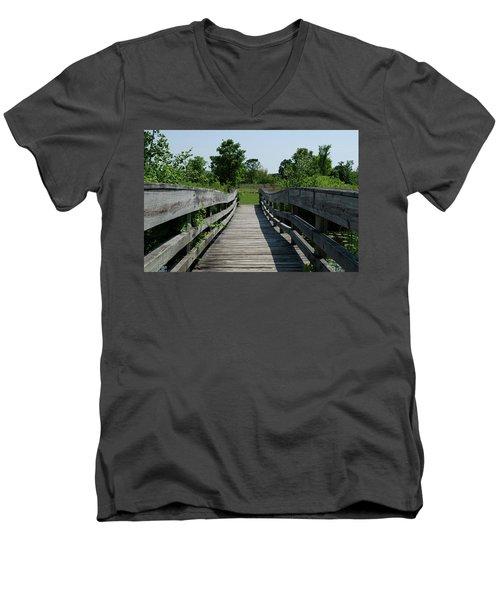 Nature Bridge Men's V-Neck T-Shirt
