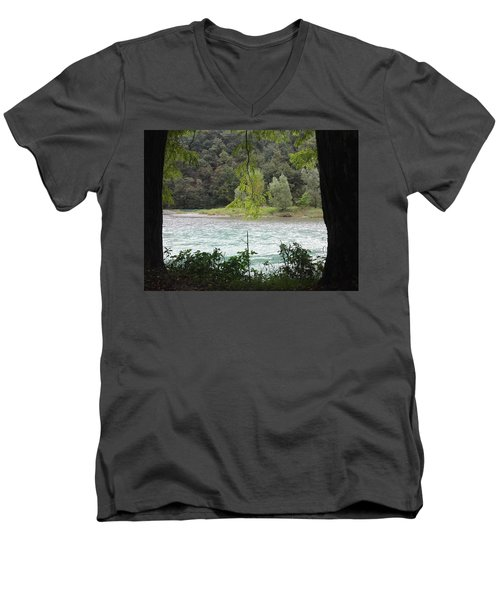 Nature On Stage Men's V-Neck T-Shirt