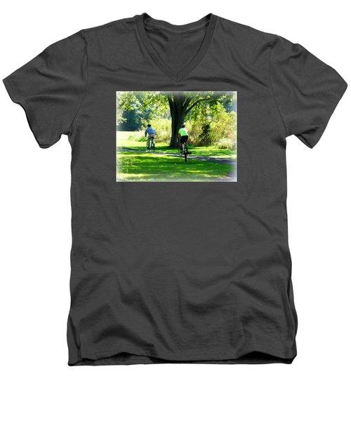 Nature Ride Men's V-Neck T-Shirt