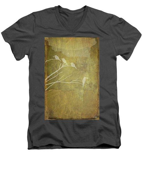 Nature Study In Gold  Men's V-Neck T-Shirt