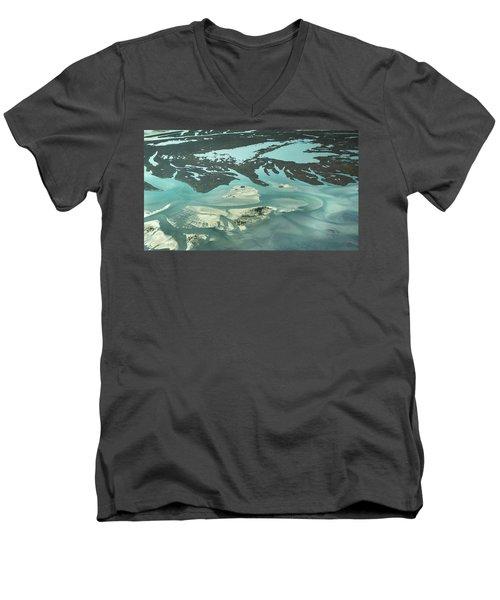 Natures Art On Barnegat Bay Men's V-Neck T-Shirt