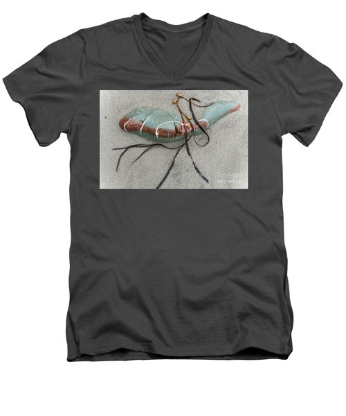 Men's V-Neck T-Shirt featuring the photograph Nature's Art by Werner Padarin