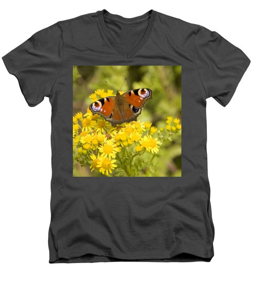 Men's V-Neck T-Shirt featuring the photograph Nature's Beauty by Ian Middleton