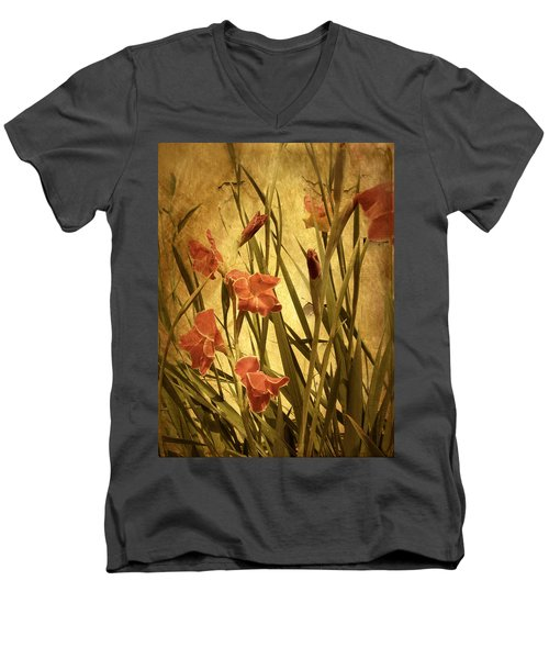 Nature's Chaos In Spring Men's V-Neck T-Shirt