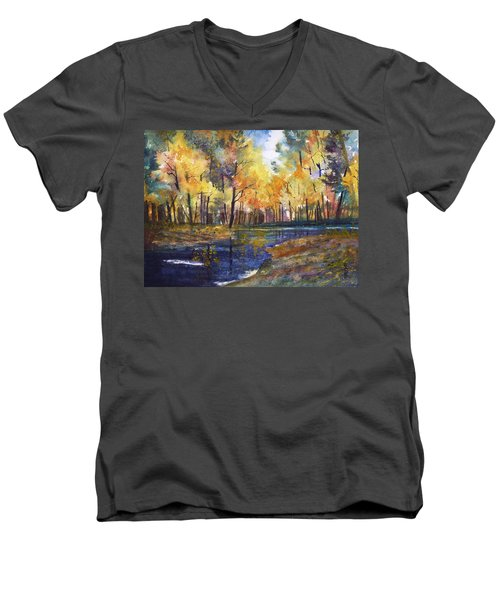 Nature's Glory Men's V-Neck T-Shirt