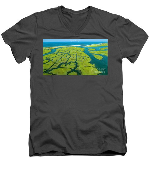 Natures Lines Men's V-Neck T-Shirt